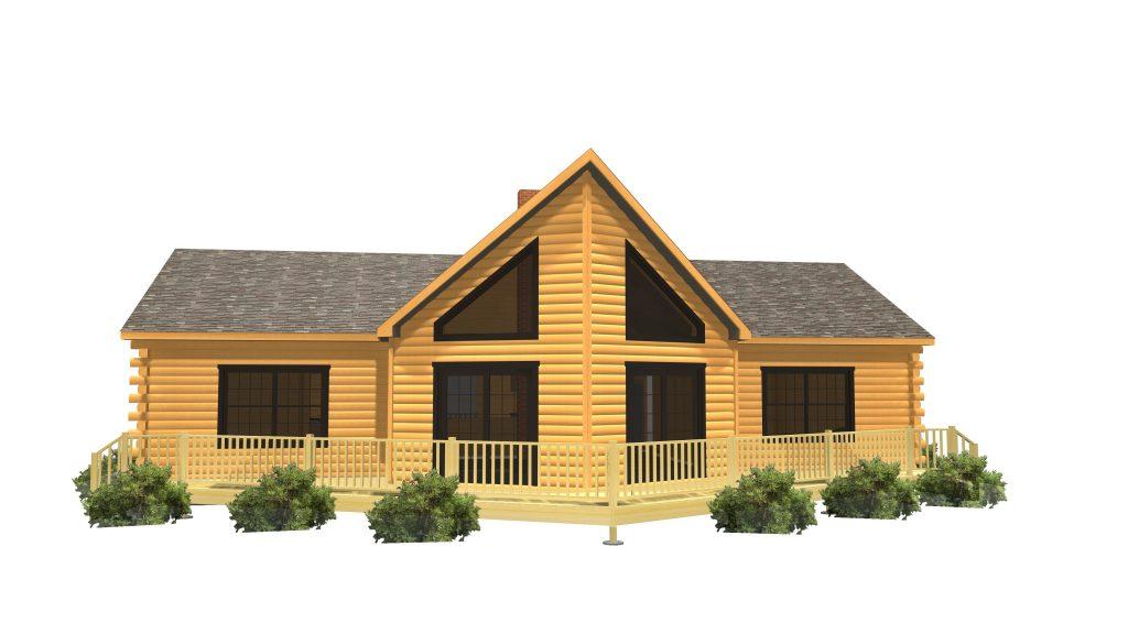 Penobscot Home Package Series Maine Pine Log Homes