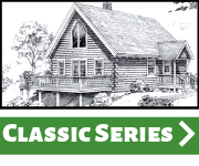 Maine Pine Log Home by Hammond Lumber Classic Series