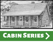 Maine Pine Log Homes Cabin Series